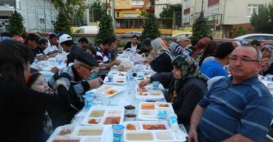 Sakatlar Derneği'nde iftar programı düzenlendi