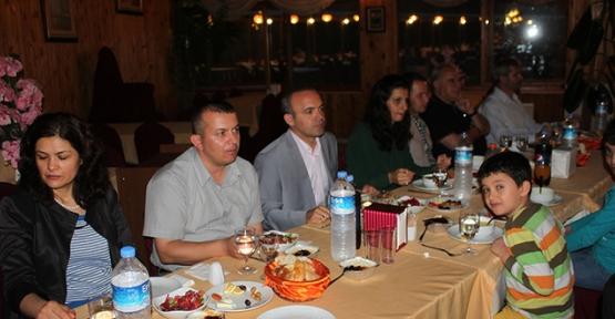 Şehit ve gazi ailelerine Kaymakam Öner'den iftar