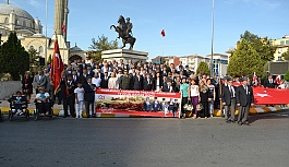 Gaziler Günü Çerkezköy'de kutlandı