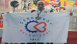 Özbahçeci Avrupa Şampiyonu oldu