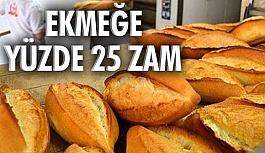 Ekmek 1.25 TL oldu!