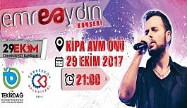 Emre Aydın konseri 29 Ekim'de