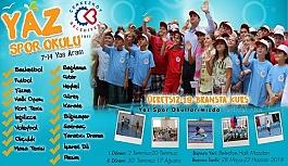 Yaz spor okulu 2 Temmuz'da başlıyor