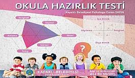 Kapaklı Belediyesi'nden 'okula hazırlık testi'
