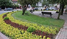 Kavşak ve parklar düzenleniyor