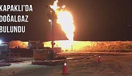 Kapaklı'da doğalgaz bulundu,...
