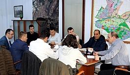 Altyapı kordinasyon toplantısı yapıldı