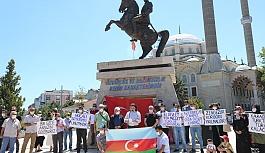 Türk Ocakları Çerkezköy Şubesi Ermenistan'ı protesto etti