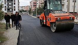 Utku Güler Sokak asfaltlanıyor