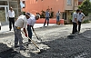 40 bin m2 sıcak, 14 bin m2 soğuk asfalt yapıldı