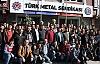 Hema işçilerinden Türk Metal Sendikası'na ziyaret