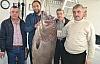 Saros'da 66.5 kilogramlık balık yakalandı