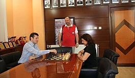 Çerkezköy'e satranç parkı
