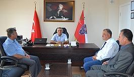 Fikret Tanyeri Murat Ogan'ı ziyaret etti