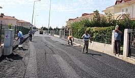 4 sokak daha sıcak asfalt ile kaplanıyor