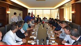 Ak Partili heyetten Çerkezköy ziyaretleri