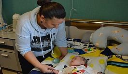 Down sendromlu 3 aylık bebek ameliyat oldu