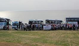 Çanakkale gezilerine toplam 2 bin 259 kişi...