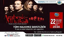 'Arabesk Müzikali' Kapaklı halkı...