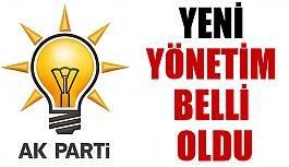 AKP yönetimini açıkladı