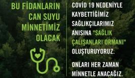 TEMA'dan Dr. Tayfun Kepiç'e saygı...