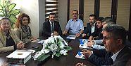 CHP yönetimi ziyaretlerine devam ediyor