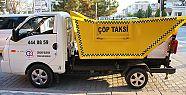 Çöp taksi iş başında