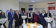 Ebru sergisi törenle açıldı