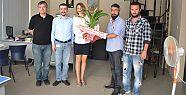 İrmet'ten Basın bayramı ziyareti