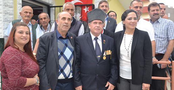 Yüceer Gazileri ziyaret etti