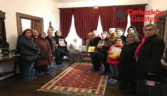 Çerkezköylü kadınlardan Atatürk Evi ziyareti
