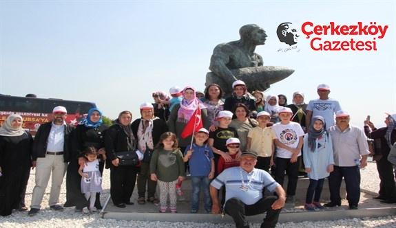 Belediye'nin Çanakkale gezileri devam ediyor