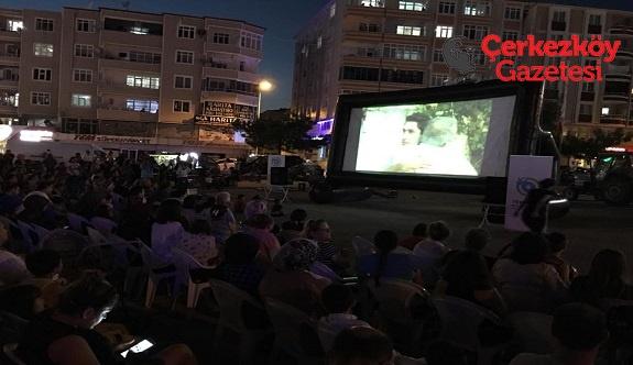 Kapaklı'da nostaljik sinema geceleri