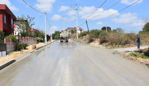 Pınarça Kapaklı Yolu Tamamlandı