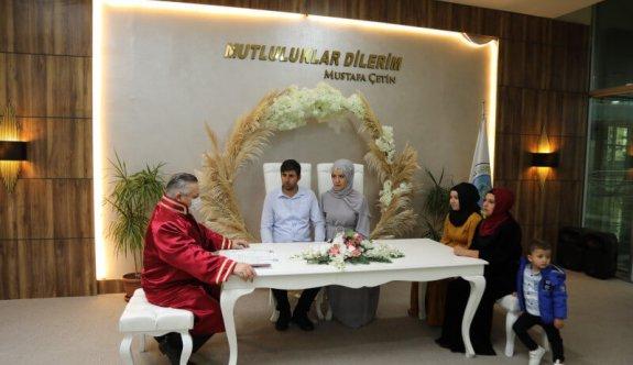 Nikah Salonu Kapaklı Atatürk Kültür Merkezi'nde Hizmet Vermeye Başladı