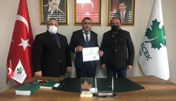 Karakoç Gelecek Partisi ilçe başkanı oldu