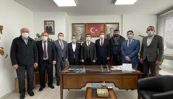 Hak ve Özgürlükler Hareketi'nden Başkan Çetin'e Ziyaret