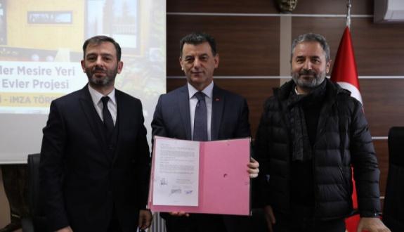 İkiz Göller Mesire Yeri Lüks Bungalov Evler Projesi Sözleşmesi İmzalandı