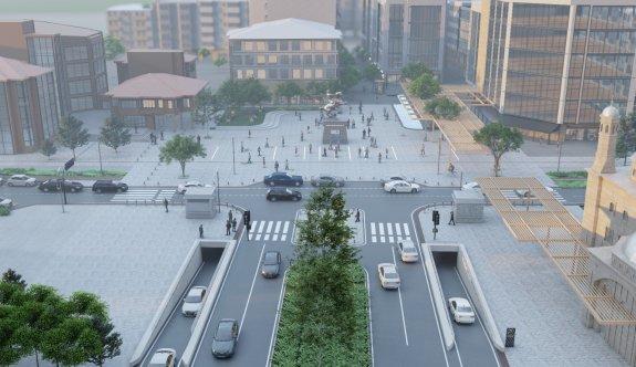 Çerkezköy'ün çehresini değiştirecek projede ilk adım