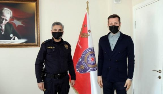 AKAY'DAN POLİS HAFTASI ZİYARETİ
