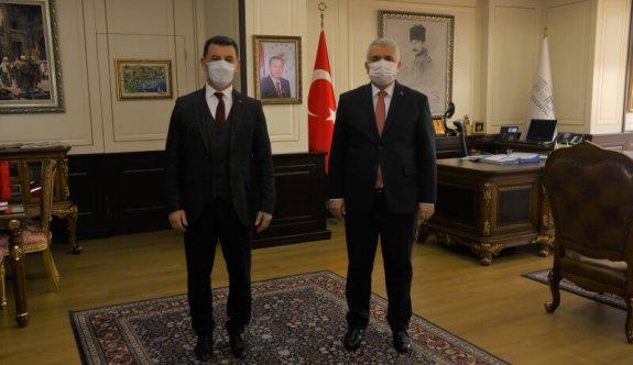 Başkan Çetin'den  Bir Dizi Ziyaret