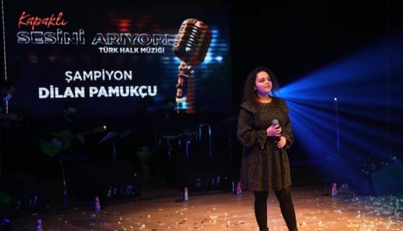 """""""Kapaklı Sesini Arıyor"""" Türk Halk Müziği Yarışmasının Kazananı Dilan Pamukçu Oldu"""