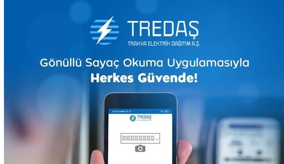 """TREDAŞ'ta """"Gönüllü Sayaç Okuma Uygulaması"""" Devreye Alındı"""
