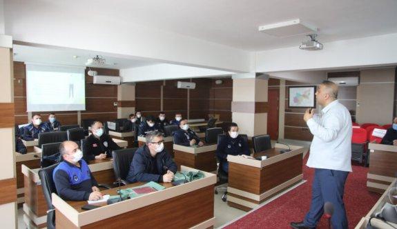 Zabıta Personeline Yönelik Eğitim Programı Düzenlendi