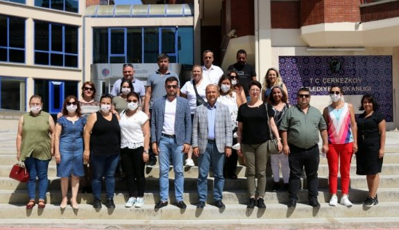 CHP'den Akay'a ziyaret