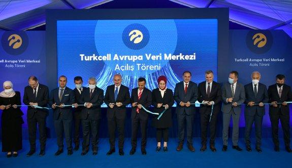 Turkcell Avrupa Veri Merkezi'nin Açılışı Yapıldı