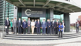 AB Türkiye Delegasyonundan ÇOSB'ye ziyaret