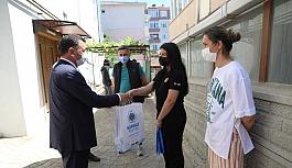 Başkan Çetin'den Genç Sporculara Ziyaret