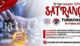 29 EKİM CUMHURİYET KUPASI SATRANÇ TURNUVASI...